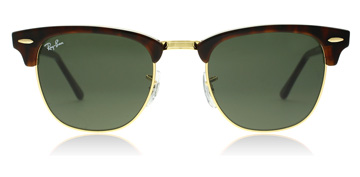 Ray-Ban Clubmaster Gold / Tortoise