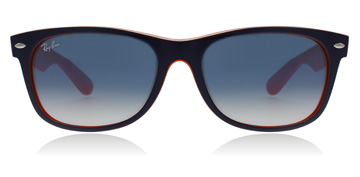 Ray-Ban New Wayfarer Blue / Orange