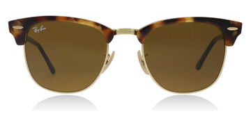 Ray-Ban Clubmaster Spotted Brown Havana