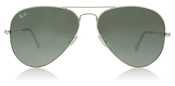 Ray-Ban Aviator Silver Crystal
