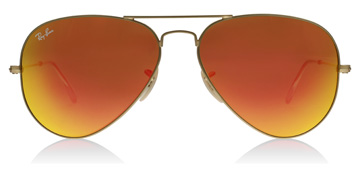 Ray-Ban Aviator Matte Gold