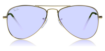 Ray-Ban Junior RJ9506S Age 4-8 Years Matte Gold