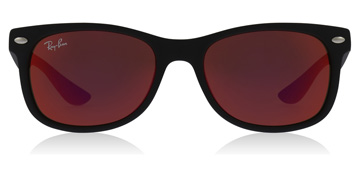Ray-Ban Junior RJ9052S Age 12-15 Years Matte Black