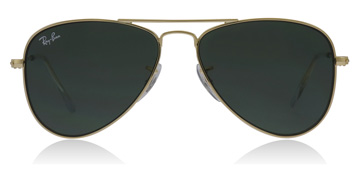 Ray-Ban Junior RJ9506S Age 4-8 Years Gold