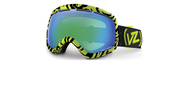 Von Zipper Skylab Gloss Black / Lime