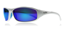 Bolle Crest Shiny White 11975 Offshore Blue Polarised
