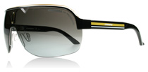 Carrera Topcar 1 Black Yellow Crsytal KBN