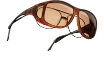 Cocoons Aviator (XL) Tortoise with Amber C207A Polarised
