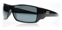 Dirty Dog Axe Black Silver Mirror 53295 Polarised