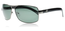 Dirty Dog Bullet Shiny Gunmetal 53306 Polarised