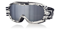 Dirty Dog Goggles Scope Black and White 54125 Large