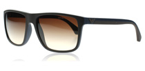 Emporio Armani 4033 Matte Brown and Blue 523113