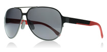 Hugo Boss 0669S Black and Red 32P3H Polarised
