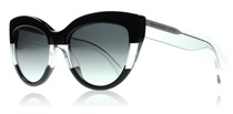 Marc by Marc Jacobs 455S Black Crystal AS0