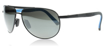 Maui Jim Leeward Coast Black and Blue - Neutral Grey 297-2M Polarised