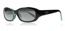 Maui Jim Punch Bowl Black with Blue 219-03 Polarised