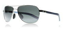 Maui Jim Guardrails Silver with Blue 327-17 Polarised