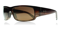 Maui Jim World Cup Chocolate Stripe Fade H266-01 Polarised