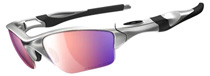 Oakley Half Jacket 2.0 XL Silver oo9154-06 Polarised