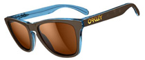 Oakley Frogskins LX Tortoise and Blue OO2043-03 Polarised