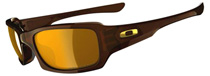Oakley Fives Squared Polished Brown OO9238-08 Polarised