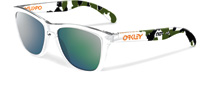Oakley Frogskins Frogskins Eric Koston Clear Camo 24-436