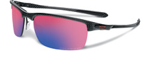 Oakley Carbon Blade Polished Carbon OO Red Iridium OO9174-02 Polarised
