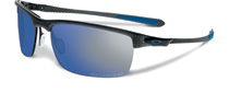 Oakley Carbon Blade Matte Carbon Ice Iridium OO9174-05 Polarised