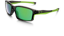 Oakley Chainlink Matte Dark Grey Jade Iridium OO9247-04