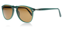 Persol 9649S 9649s Ossidiana Green 101357 Polarised