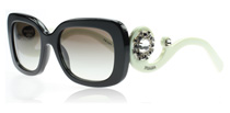 Prada 33PS Ornate Black and White Ornate 2AX0A7