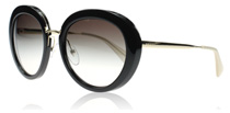 Prada 16QS Cinema Black and Gold 1AB0A7