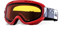 Quiksilver Goggles Flake Red EQBTG00001 Small