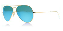 Ray-Ban 3025 Aviator Matte Gold 112/17 58mm