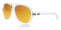 Ray-Ban CATS 5000 Matte Transparent Mirrored Brown 646/69
