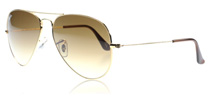 Ray-Ban 3025 Aviator 3025 Aviator Arista 001/51 Medium 58mm