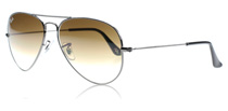 Ray-Ban 3025 Aviator 3025 Aviator Gunmetal 004/51 Large 62mm