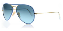Ray-Ban 3025JM Aviator Full Colour Blue 001/4M 58