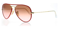 Ray-Ban 3025JM Red 001/X3 55