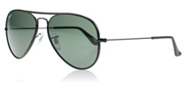 Ray-Ban 3025JM Aviator Full Colour Black 002 55