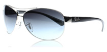 Ray-Ban 3386 Silver 003/8G Large (67mm)