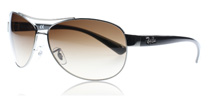 Ray-Ban 3386 Brown Gradient 004/13 Large 67mm