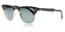 Ray-Ban 3507 Clubmaster Aluminum Black 136/N5 Polarised 49