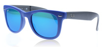 Ray-Ban 4105 Folding Wayfarer Blue 602017