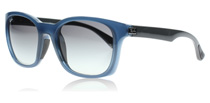 Ray-Ban 4197 Dark Blue and Grey 604211