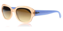 Ray-Ban 4198 Cream Peach and Blue 604585