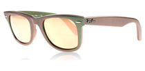 Ray-Ban 2140 Wayfarer Venus Metallic Green 6109Z2