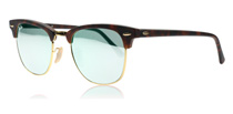 Ray-Ban Clubmaster Tortoise and Gold 114530