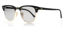 Ray-Ban 3016 Clubmaster Matte Black 901SP2 Polarised