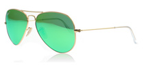 Ray-Ban 3025 Aviator 3025 Aviator Gold 112/P9 Polarised 58MM